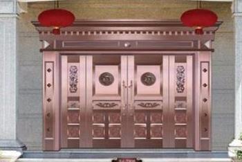 铜门,仿铜门工程实例