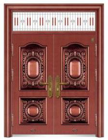红褔仿铜门