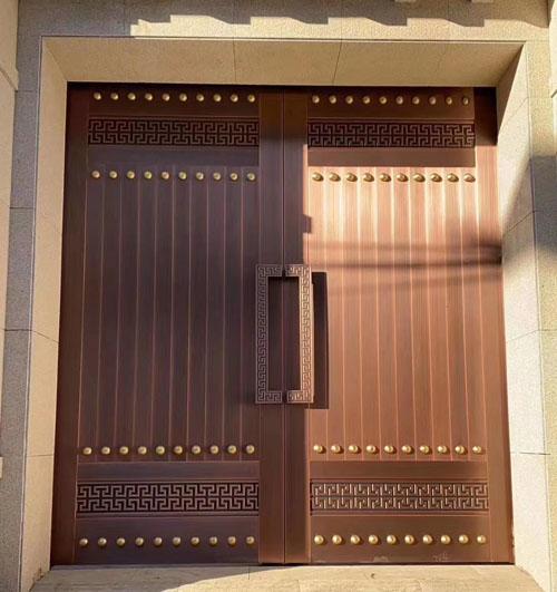 铜门实用性能